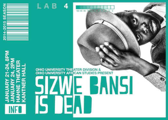 essays on sizwe bansi is dead Free essay: both sizwe bansi is dead, (written by athol fugard in collaboration with john kani and winston ntshona) and death and the.